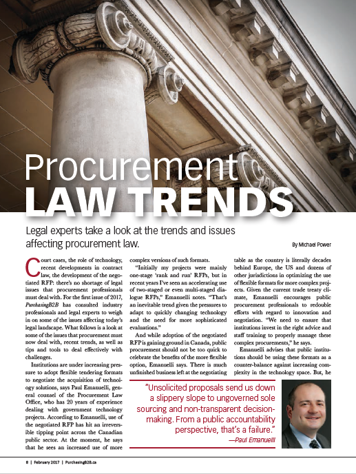procurement law Public procurement international a resource on public procurement practice, policy and law, from around the globe menu edited by professor christopher yukins, george washington university – government procurement law program us department of homeland security – procurement.